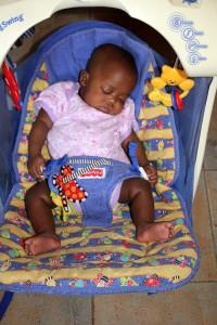Sponsorship - sleeping baby