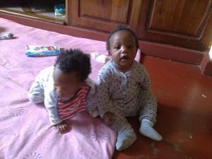 Baby Milestones - Enok and Bahati