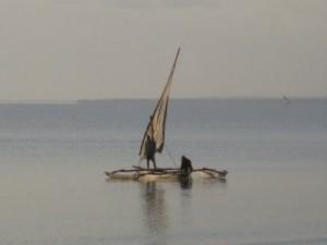 Dhow boat Bagamoyo
