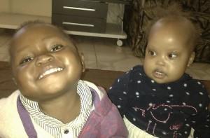 Margaret and Elinipa smiling
