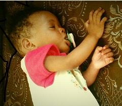 Rose asleep